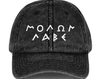 82cca30c4a2 2A Cap Molon Labe Hat Vintage Cotton Twill Cap 2nd Amendment Hat Gun Rights  Hat Vintage Cap Cotton Cap Twill Hat Vintage Dad Hat 2A Hat