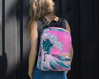 Aesthetic Backpack Etsy