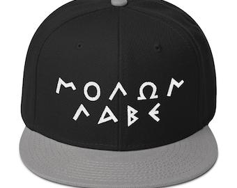 6490dca9d45 Molon Labe Cap Molon Labe Hat Snapback Cap SnapBack Hat 2A Hat 2A Cap 2nd  Amendment Hat 2nd Amendment Cap 2A Gun Rights Hat Come and Take It