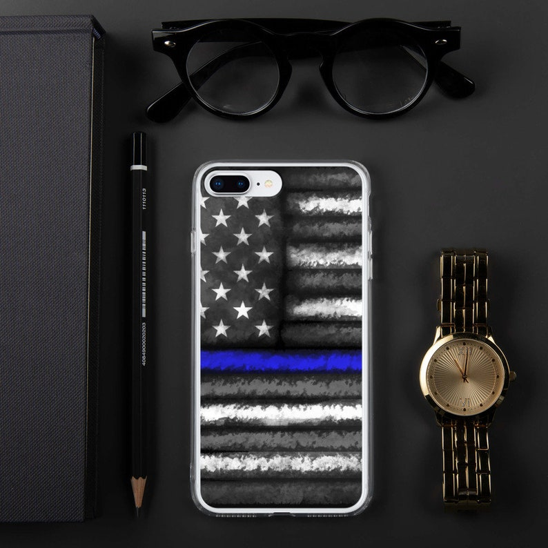 Police iPhone Case for Police Case Thin Blue Line Case iphone image 0