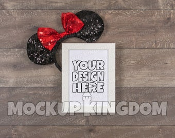 Download Free Picture Frame Mockup, White Frame Mockup, Disney Art Mockup, Disney Frame Mockup, Sign Mockup, Photo Frame Mockup, Frame Flatlay, PSD Template