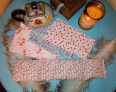 Heat Pack or Cold Therapy Wrap Neck Shoulder Flax Seed, Rice Heating Pad,Scented or Unscented