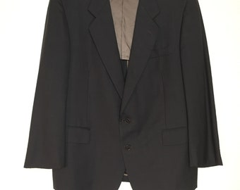 d11eca1c881 Size L | YSL Vintage Yves Saint Laurent Suit Jacket Blazer Wool Blazer Vintage  YSL Coat