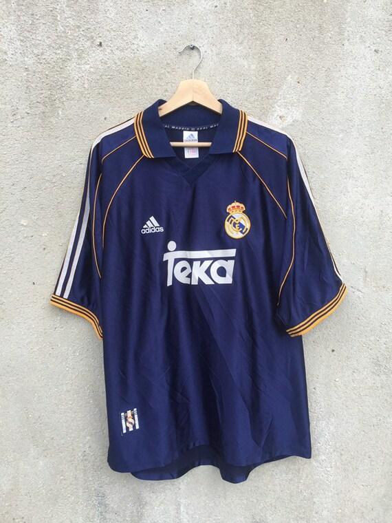 Vintage 90's Real Madrid 3rd Kit jersey/ vintage 1
