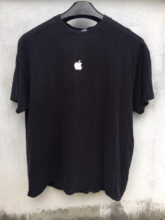 Vintage Apple t shirt / vintage Apple logo t shirt