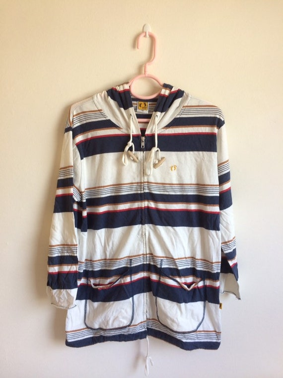 Vintage 90's Hang Ten hoodie sweatshirt/Vintage Ha