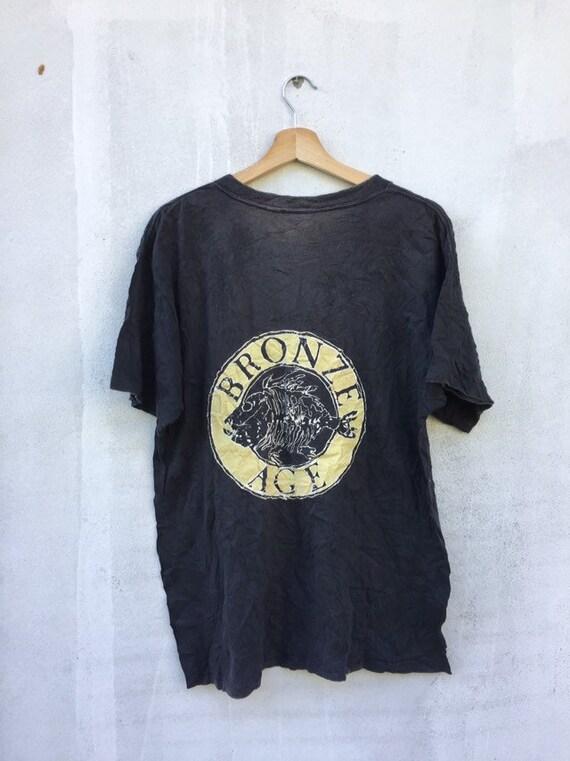 Vintage 90's Bronze Age Skateboard shirt /vintage