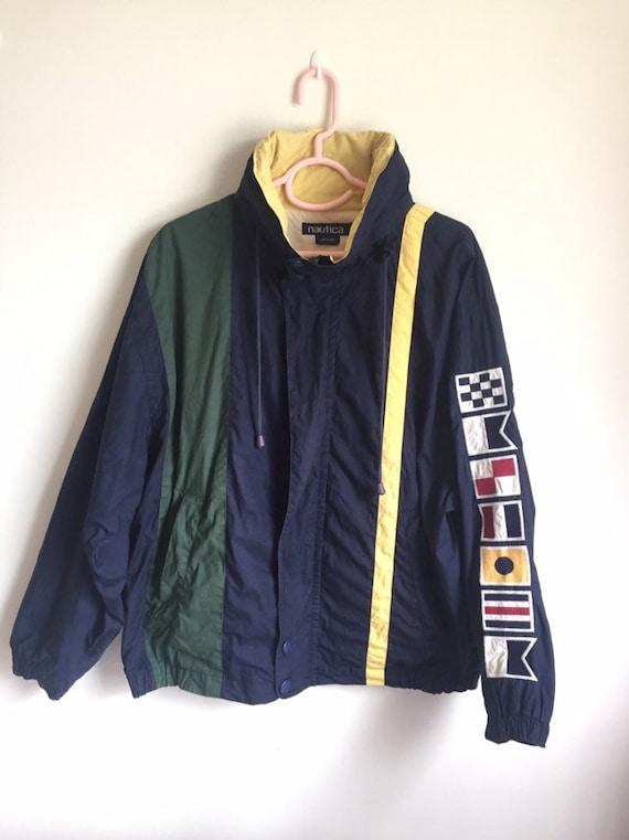 Vintage 90's Nautica Jacket/ vintage Nautica windb