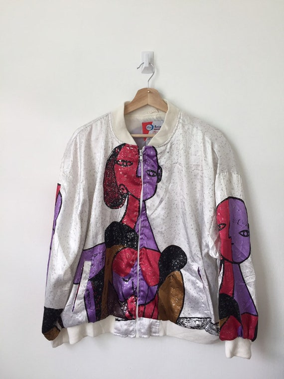 Vintage 90's Picasso Jacket / vintage Picasso Wome