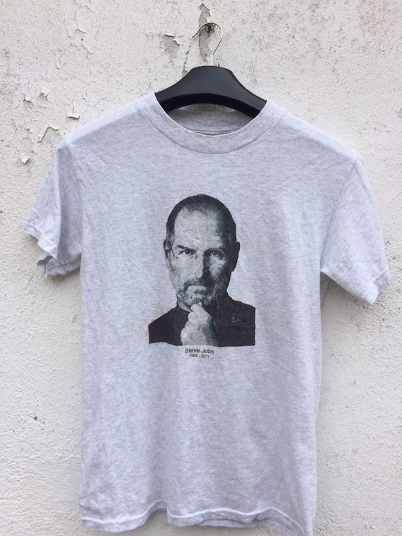 Vintage Steve Job t shirt/ vintage founder Apple t