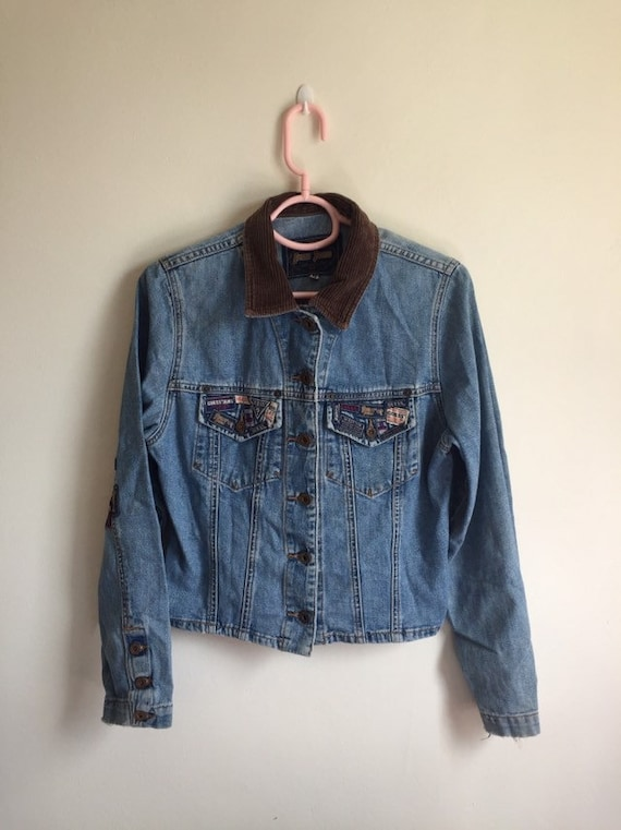 Vintage Guess Jeans Jacket for women's/ vintage Gu