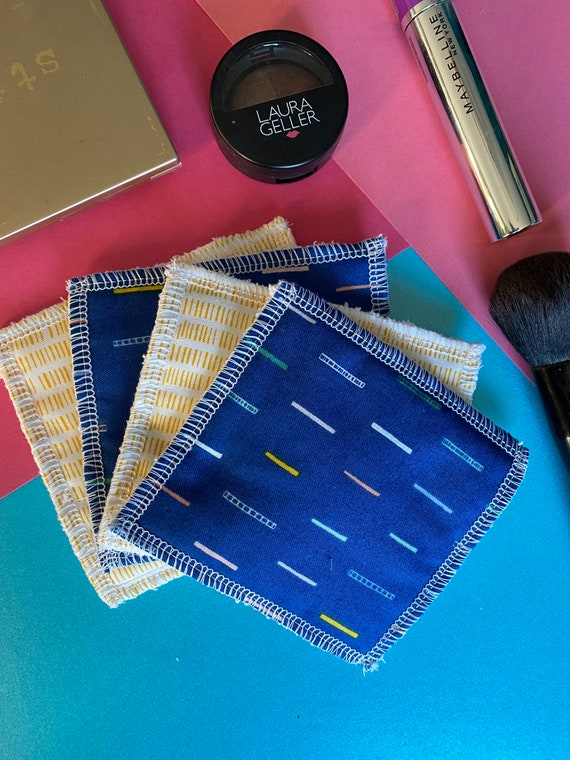 Reusable make up wipes, washable make up wipes, reusable cotton pad