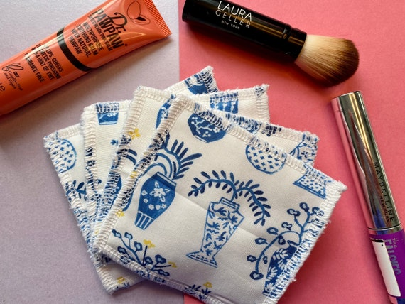 Standard size Reusable make up wipes, washable make up wipes, make up pads, reusable cotton round, eco gift