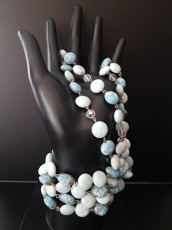 KRAMER of New York Jewelry/ Vintage Kramer Beaded… - image 6