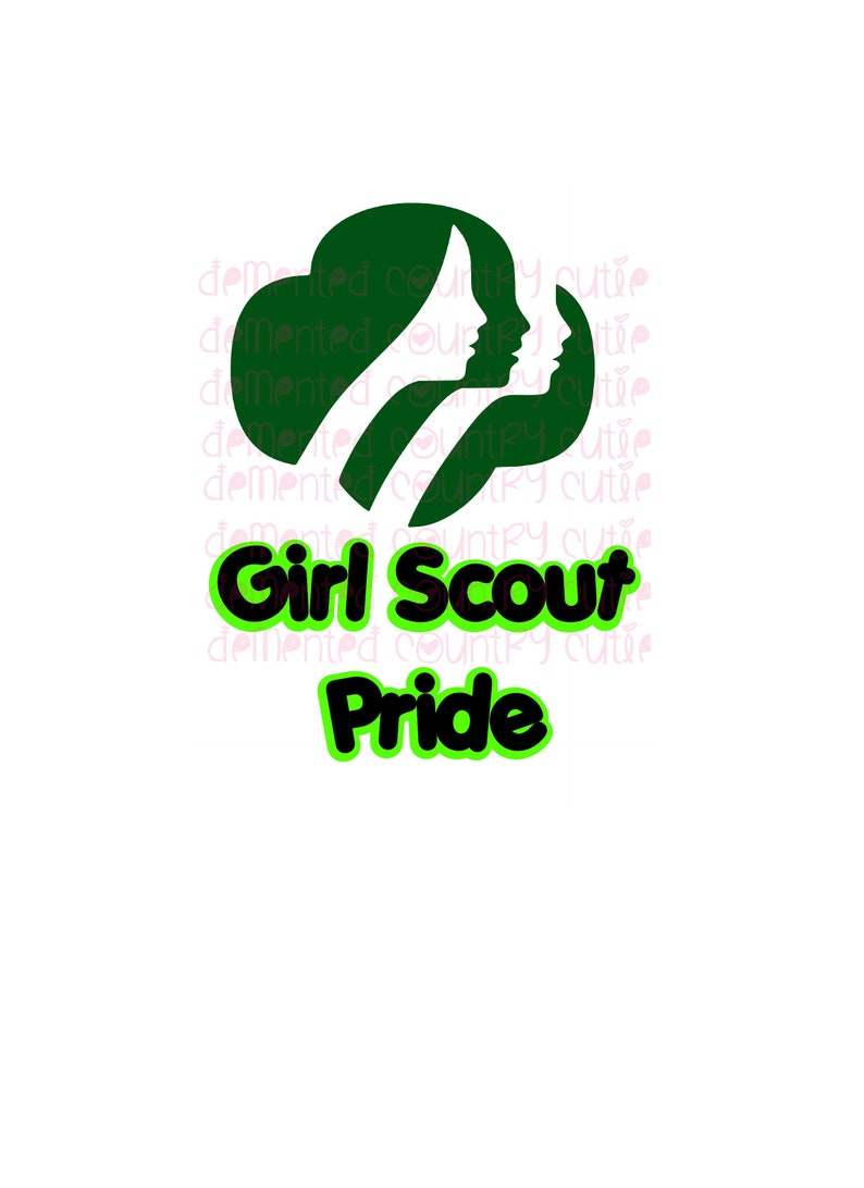 Girl Scouts SVG cutfile cut file clipart troop decal saying quote Scout  digital download cricut silhouette law sit upon decor girl teen logo