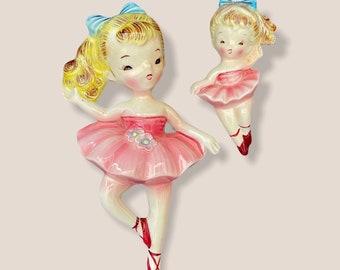 Vintage Norcrest Ballerina with Shooting Star Planter RARE 6819 Japan