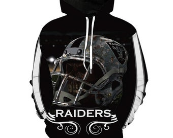 956ed0b4b05f New Oakland Raiders Football Team Sport Hoodie Unisex Fit Style Hoodie With  Hat