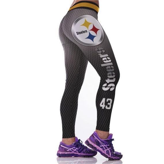 reputable site ever popular buy popular Pittsburgh Steelers Football Team Sports Leggings | Etsy