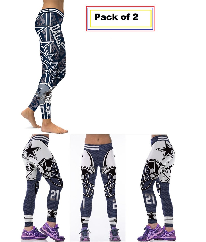 reputable site 6fd2f a1dad Dallas Cowboys Combo New Legging & legging # 21 Football