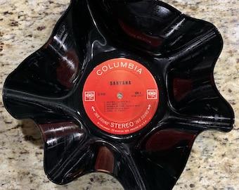 Vinyl record bowl   Etsy