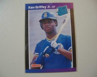 Ken Griffey Jr Card Etsy
