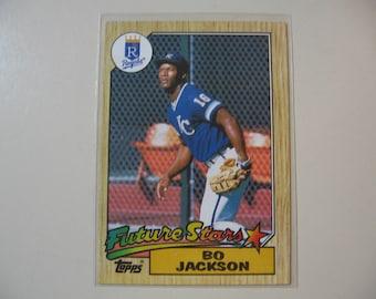 Bo Jackson Rookie Etsy