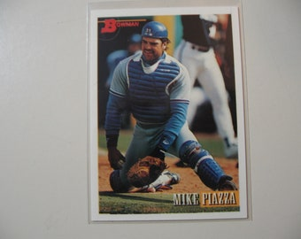 Mike Piazza Rookie Etsy