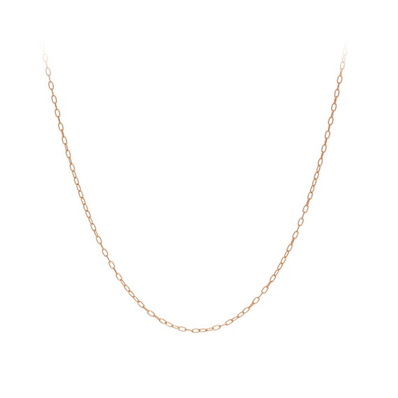 """14K Solid White Gold Box Chain Necklace 0.7mm 16/"""",18/"""",20/"""",24/"""" w Lobster catch"""