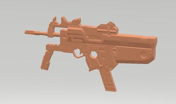 Borderlands 2 Flying Fox SMG cosplay prop [3D model]