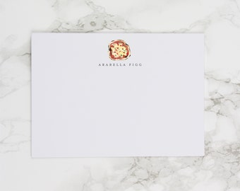 Pizza Pizza - Personalized Watercolor Stationery