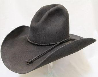 dfaf939adc0 Crappy Montana Cowboy Hat (Size 7)