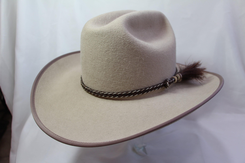 Sand Cattleman Hat Size 7 12 Etsy