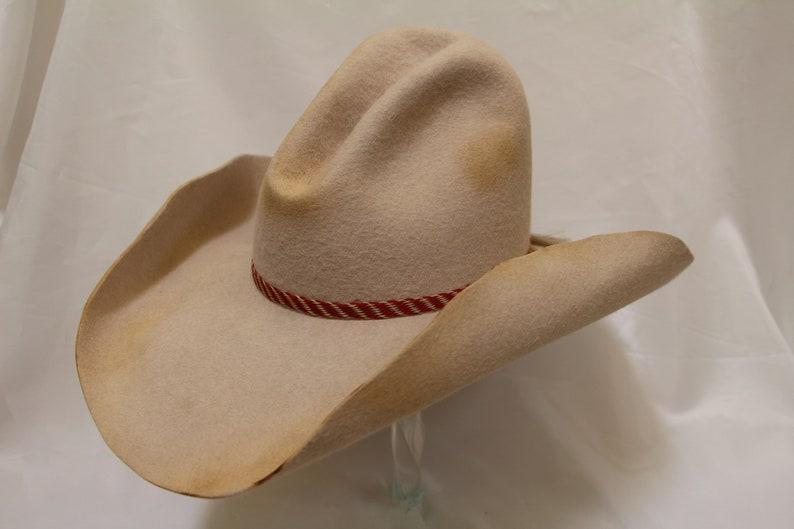 f3c83c00af2 Crappy Montana Cowboy Hat Size 7