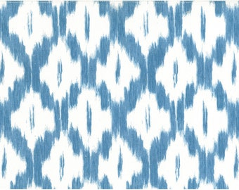Fabric by the YARD Home Decor Upholstery Curtain Pillow Runner Slipcover Drapes 54 Wide Jaipur Handprint 100/% Cotton Sky