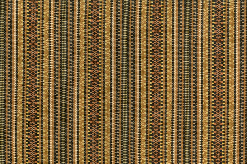 100/% Cotton Brown Durango Stripe 54 Wide Fabric by the YARD Home Decor Upholstery Curtain Pillow Runner Slipcover Drapes