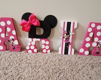 Minnie Mouse Decor Etsy