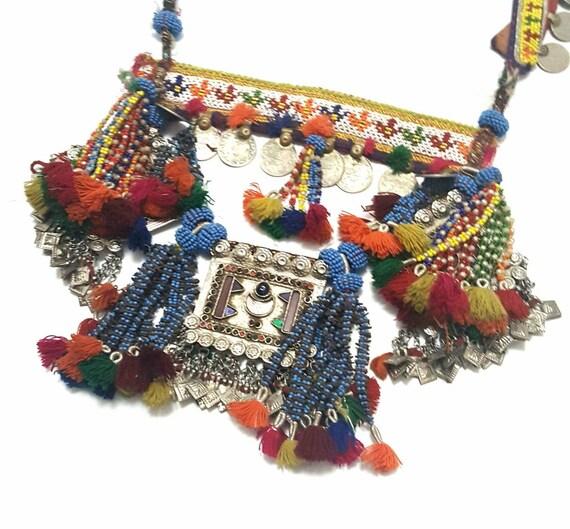 Kuchi Dress, Afghani Jewelry, Made in Afghanistan,