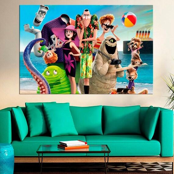 "Hotel Transylvania 2 Cushion Cover 16/""x16/"" 40cm Disney Film Cartoon Characters"