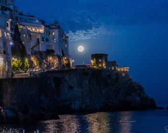 Amalfi in the Moonlight