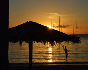 Sunset on Water Island