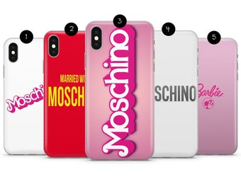 check out 2e253 c9d06 Moschino phone case | Etsy
