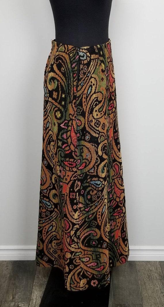 1960's Tapestry Skirt   John Meyer of Norwich   M… - image 2