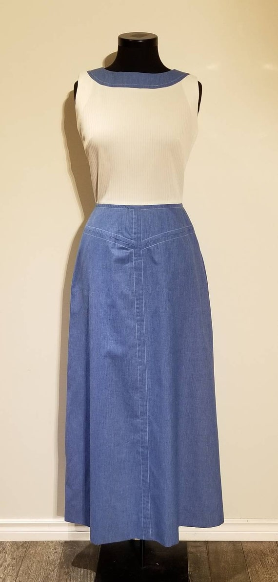 1960's/1970's | Maxi Dress | Serbin of Florida |