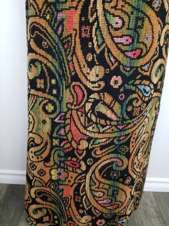 1960's Tapestry Skirt   John Meyer of Norwich   M… - image 6