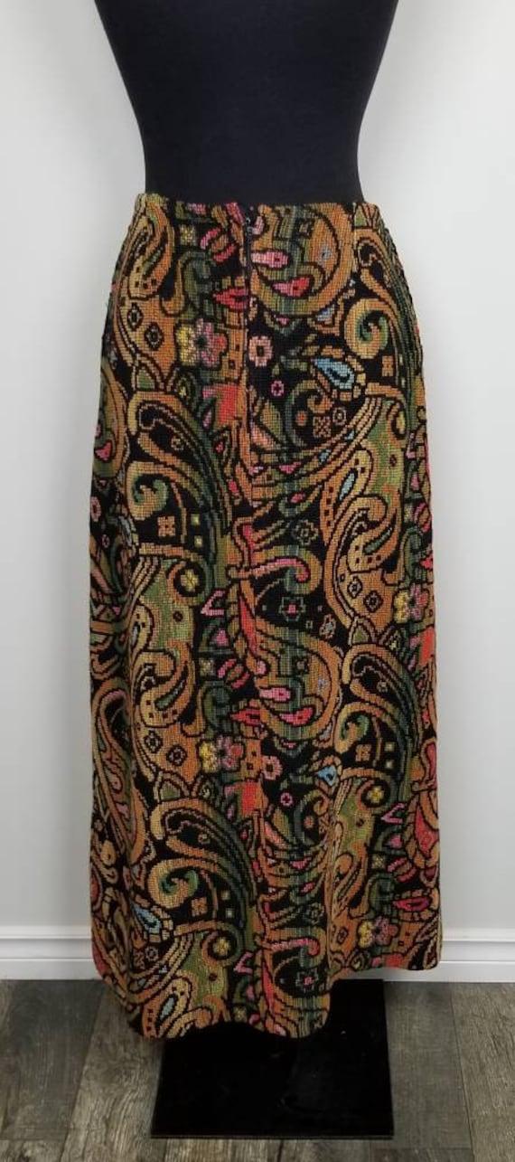 1960's Tapestry Skirt   John Meyer of Norwich   M… - image 3