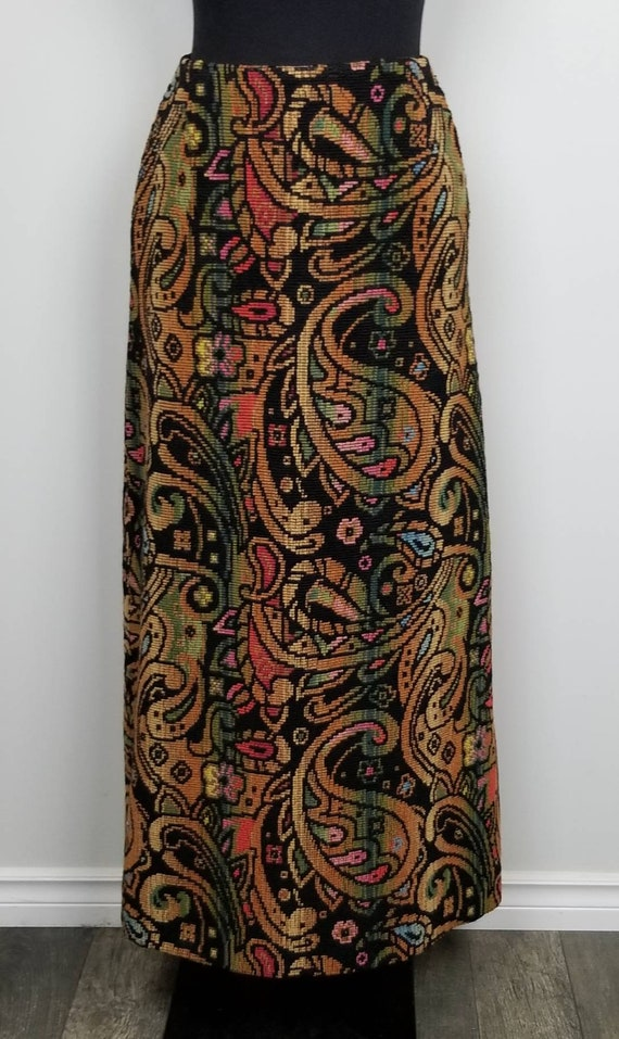 1960's Tapestry Skirt   John Meyer of Norwich   M… - image 7