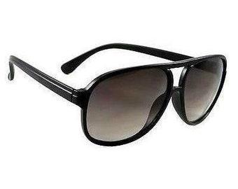 d6fdbdf0cf2 Hot Celebrity Retro Aviator Sunglasses Wicker Hip Hop Style Smoke Lens  Shades