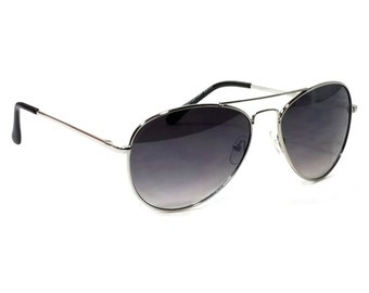01ff2b6ae8f Retro Aviator Sunglasses Harvey Pilot Spring Hinge Metal Frame