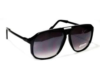46948f40688 Hot Celebrity Vintage Style Aviator Retro Oversized Sunglasses Hip Hop