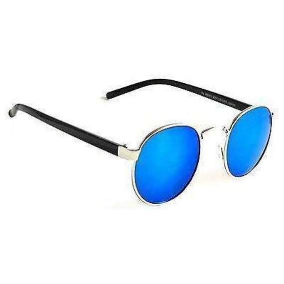 955a1a7f0fa Classic Retro Aviator Sunglasses Elmhurst Round Men Women
